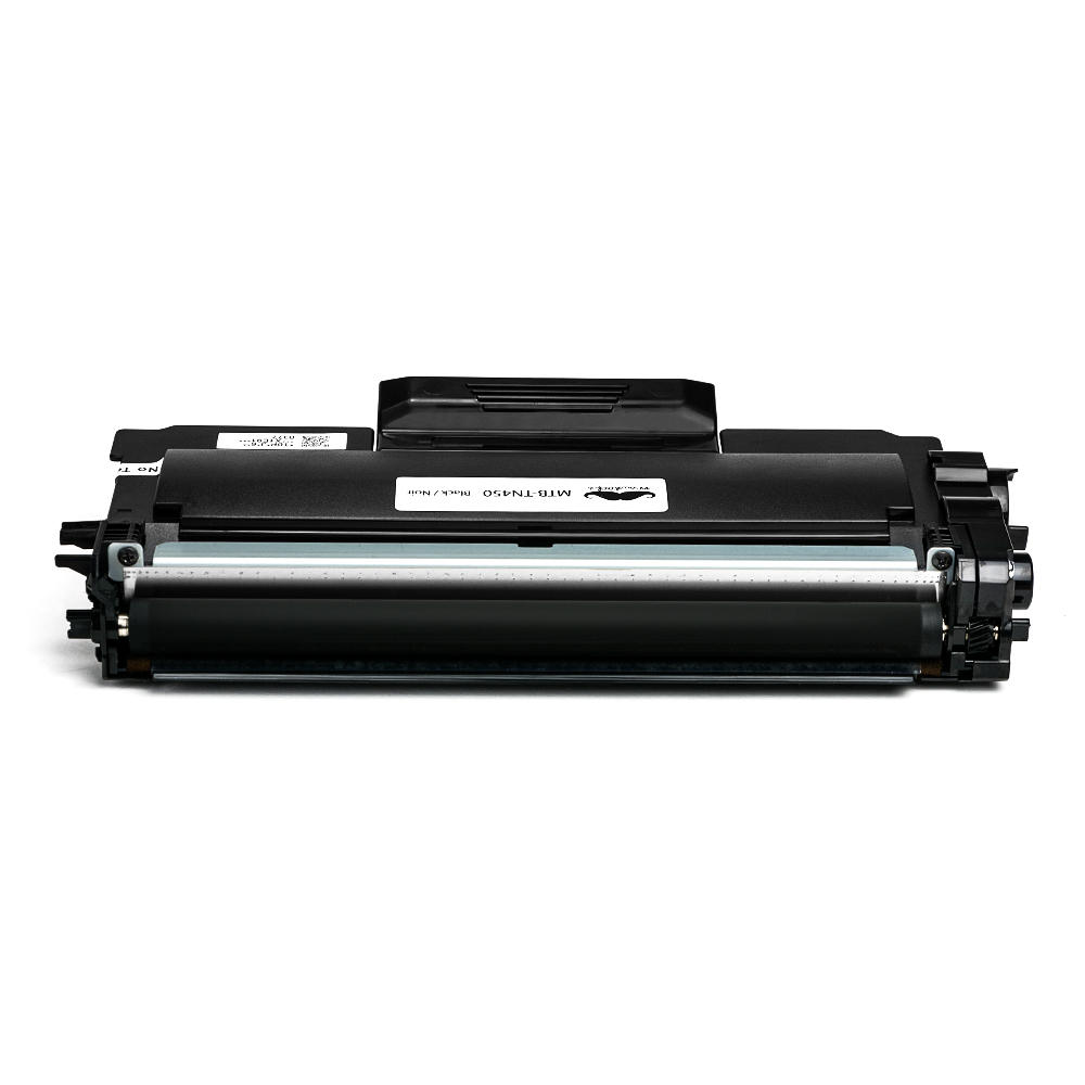 Brother TN-450 New Compatible Black Toner Cartridge Moustache