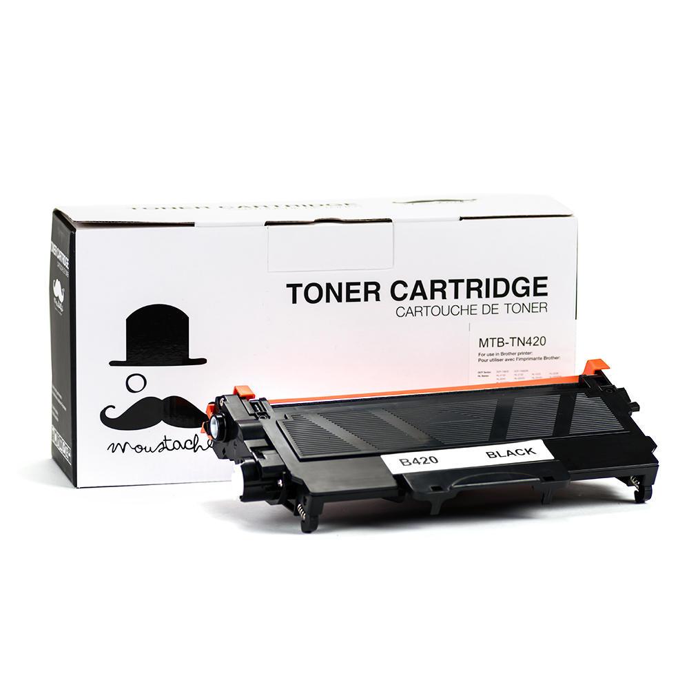Brother TN420 New Compatible Black Toner Cartridge