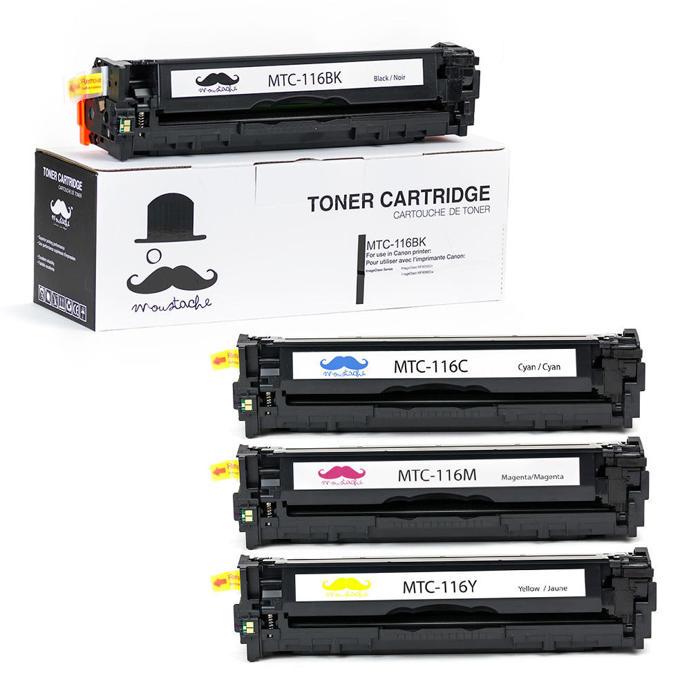 Canon 116 New Compatible Toner Cartridge Combo Set