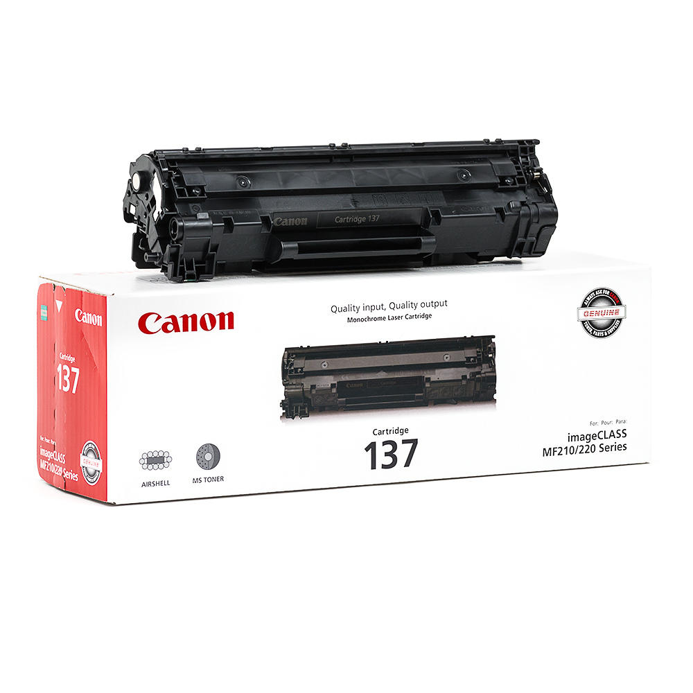 Canon 137 (9435B001) OEM Black Toner Cartridge