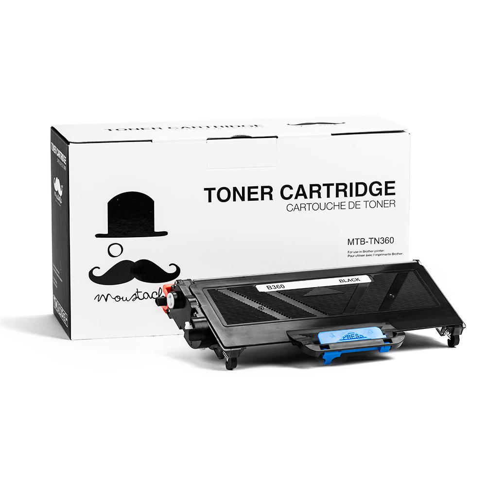 Moustache Brother TN-360 Compatible Toner Cartridge