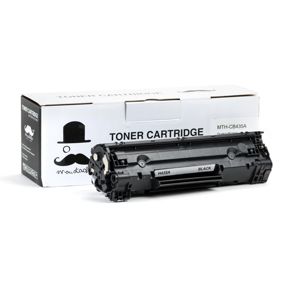 Moustache HP 35A (CB435A) Compatible Black Toner Cartridge