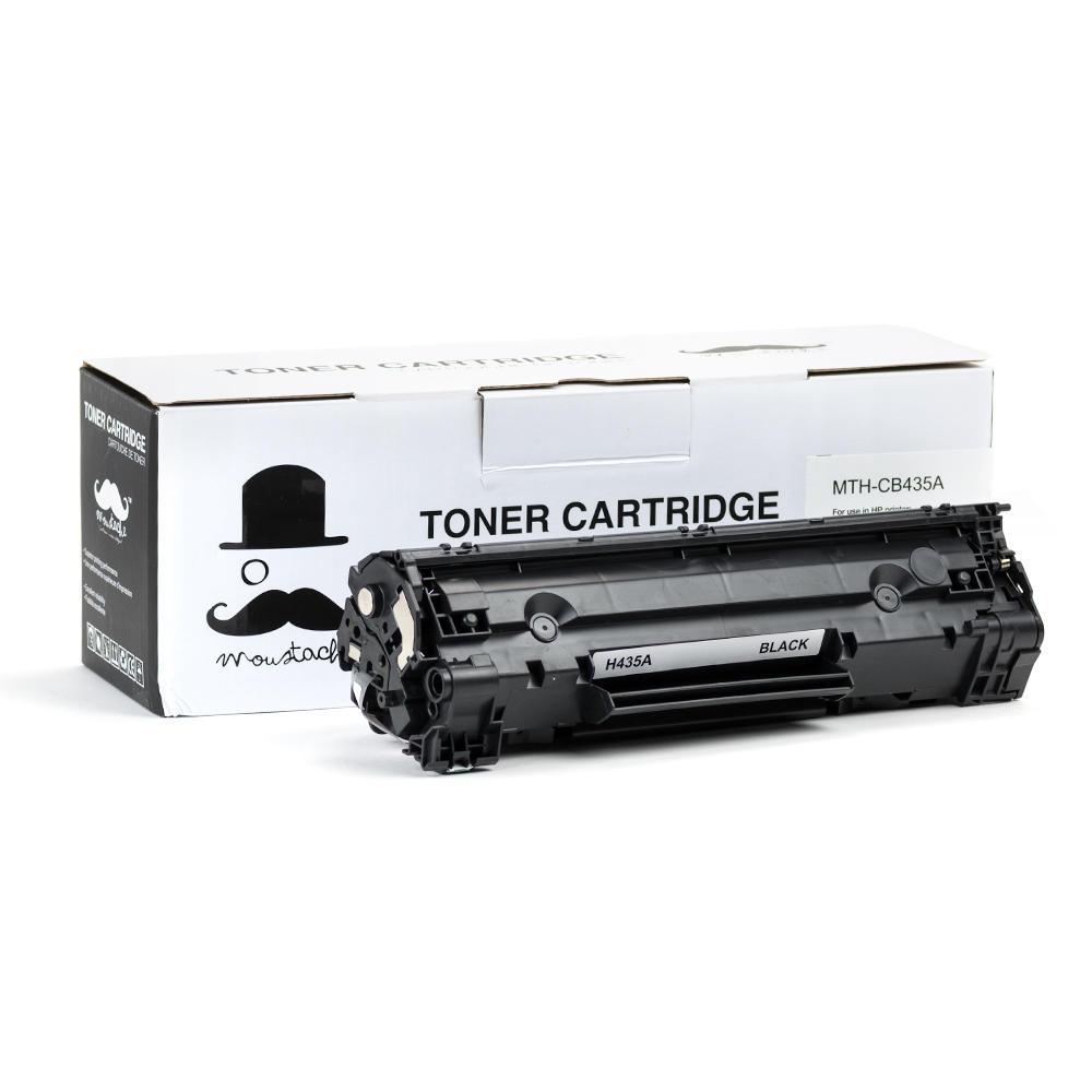 Moustache HP 35A (CB435A) Compatible Black Toner Cartridge