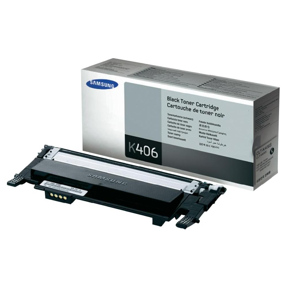 Samsung CLT-K406S OEM Black Toner Cartridge