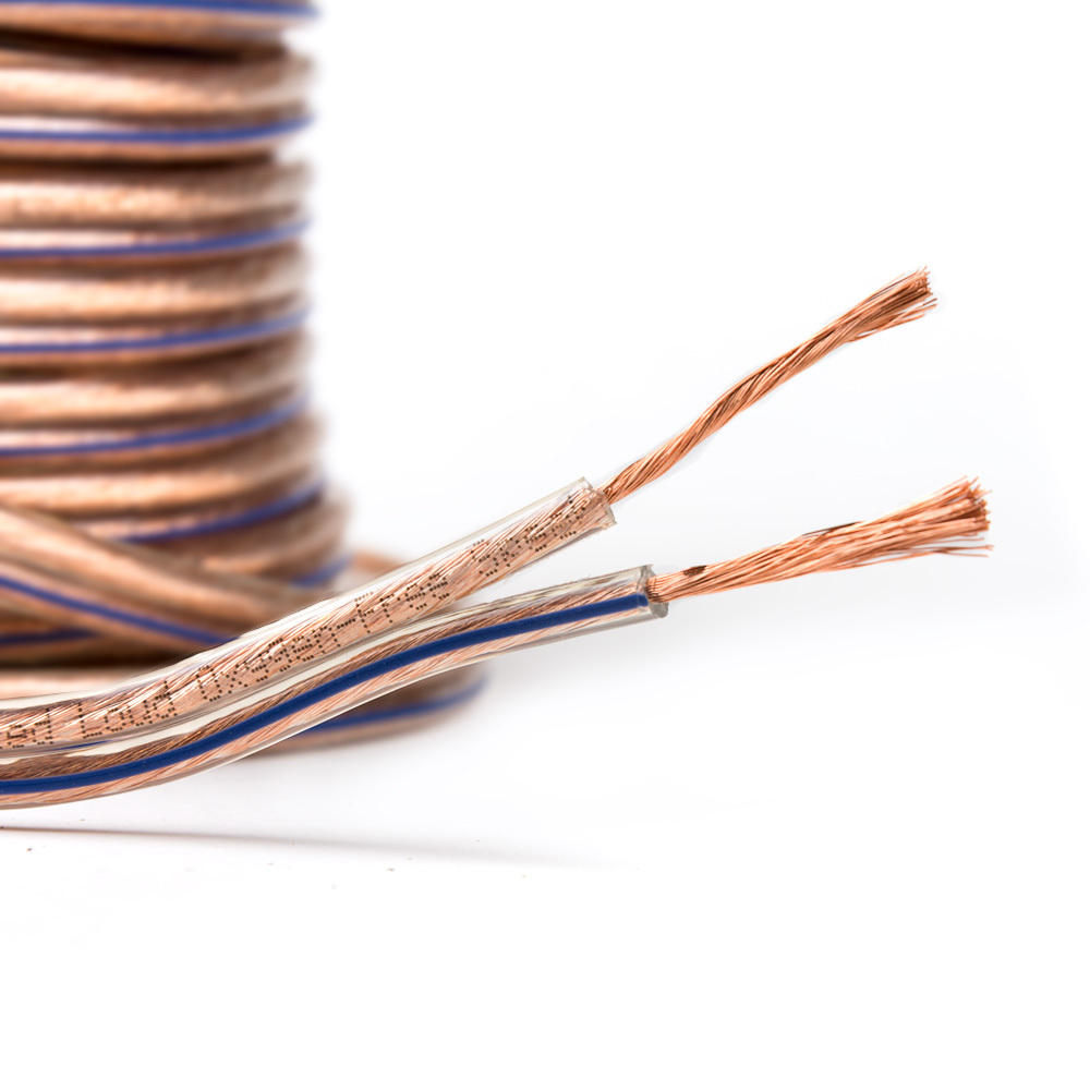 PrimeCables Speaker Wire Enhanced Loud Oxygen-Free Copper Cable
