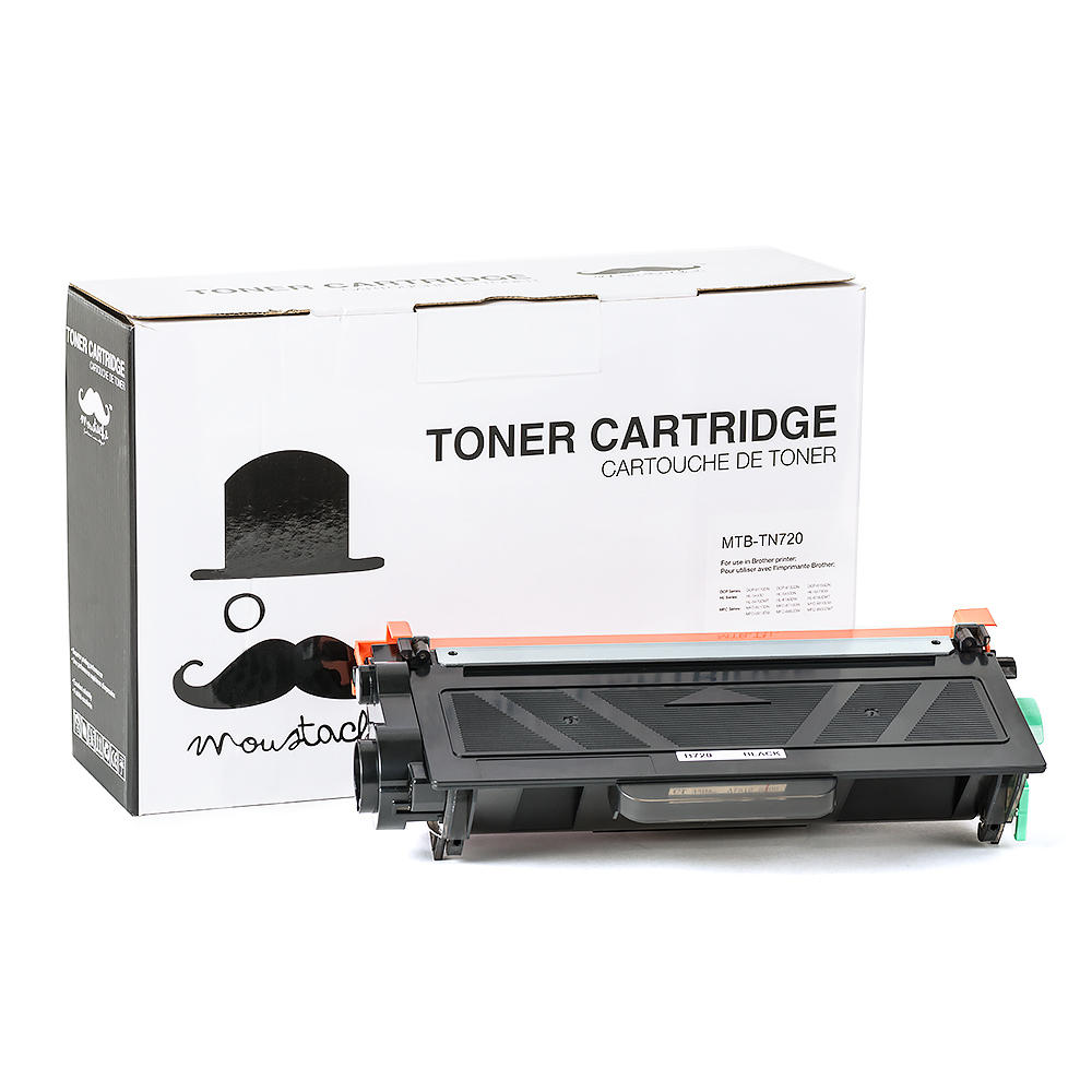 Moustache TN-720 New Compatible Black Laser Toner Cartridge