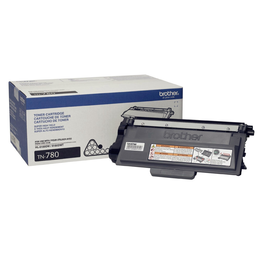 Brother TN-780 OEM Black Toner Cartridge