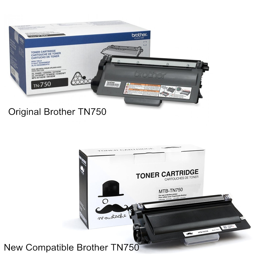 TN750 Black Toner Cartridge