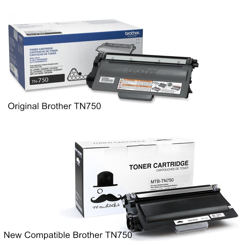 TN750 Black Toner Cartridge