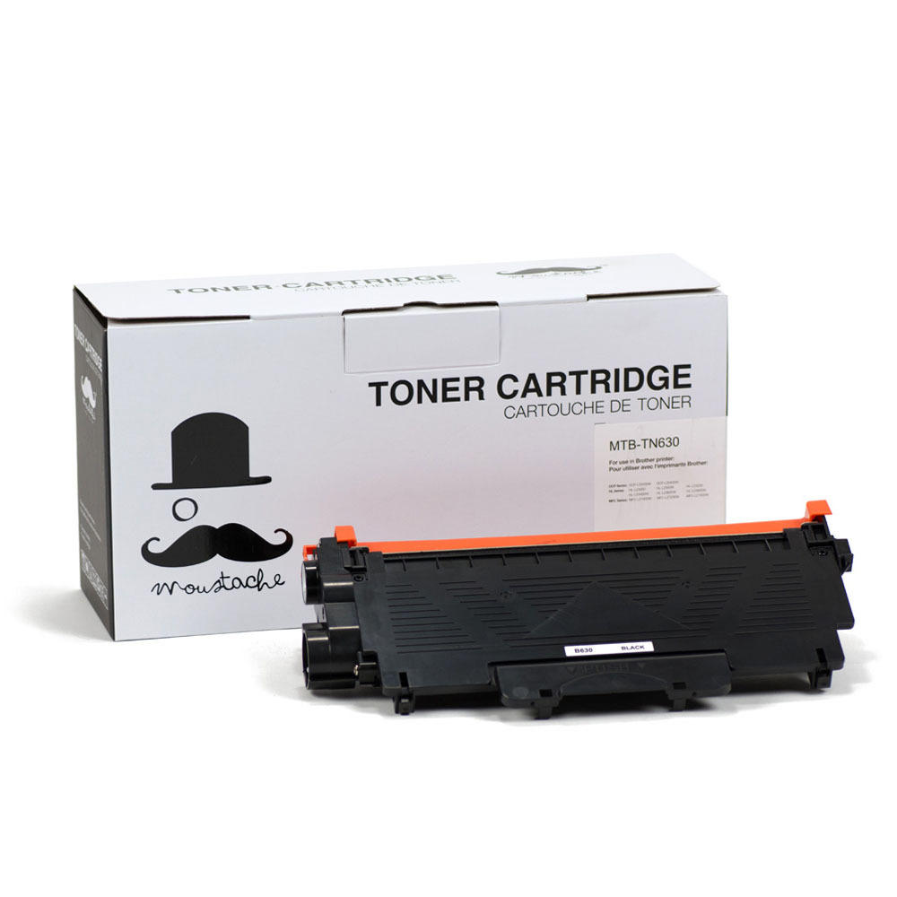 Brother-TN-630-New-Compatible-Black-Toner-Cartridge-Moustache