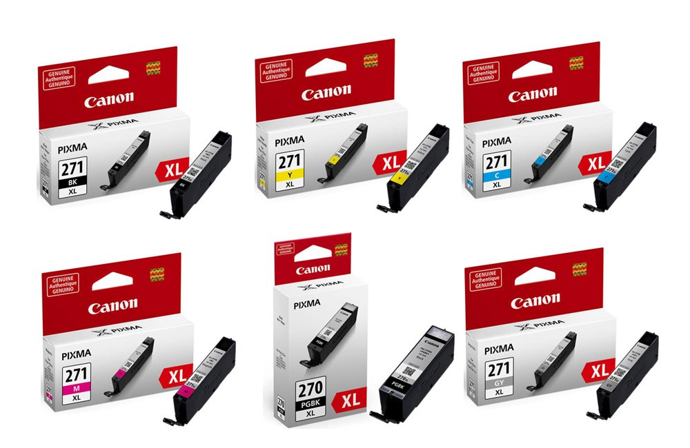Canon PGI-270XL & CLI-271XL Original Ink Cartridges