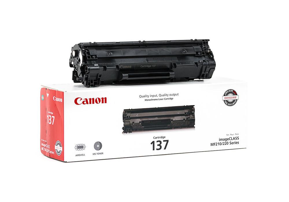 Canon 137 Original Black Toner Cartridge