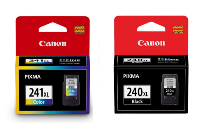 Canon PG240XL 5206B001 Black & Canon CL241XL 5208B001 Color Original Ink Cartridge High Yield