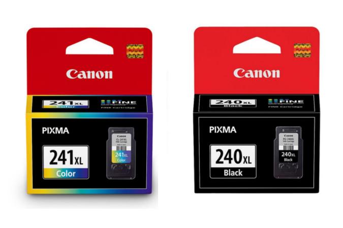 Canon PG240XL 5206B001 Black & Canon CL241XL 5208B001 Color Original Ink Cartridge High Yield