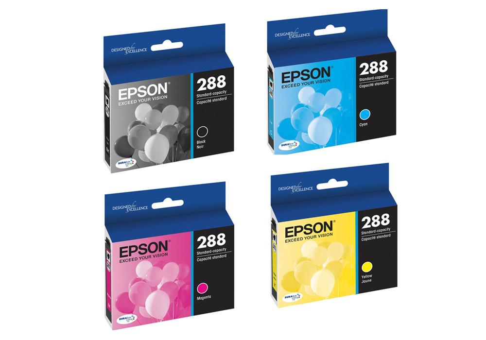 Epson T288 Series Ink Cartridges