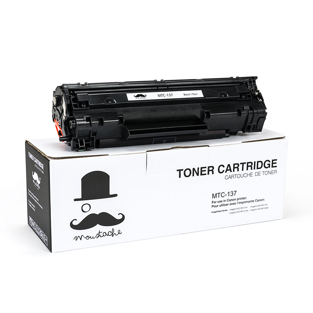 Canon 137 (9435B001) New Compatible Black Toner Cartridge - Moustache®