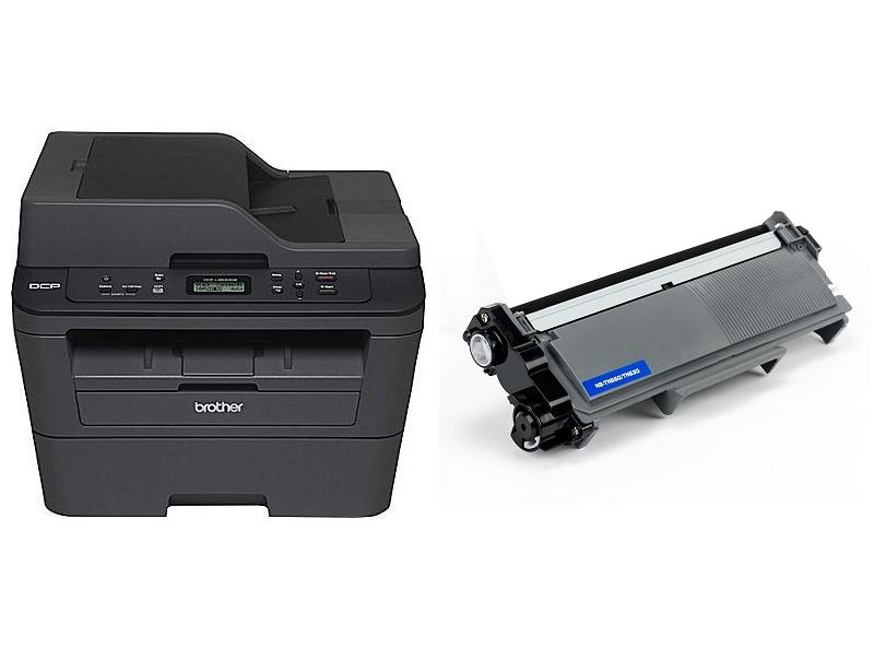 Brother DCP-L2540DW Monochrome Laser All-in-One with TN-660 Compatible Black Toner