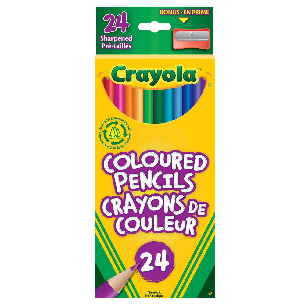 Crayola® Coloured Pencils
