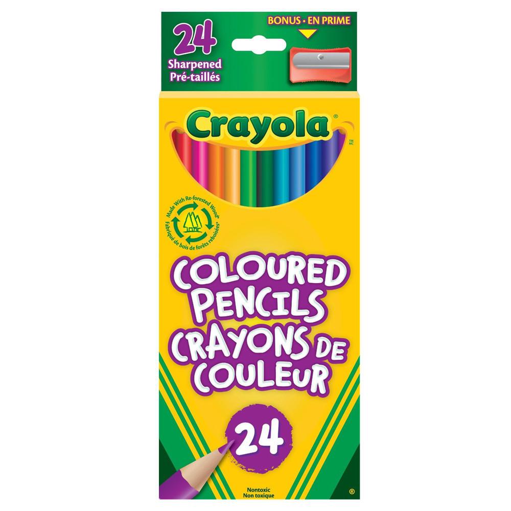 Crayola® Coloured Pencils
