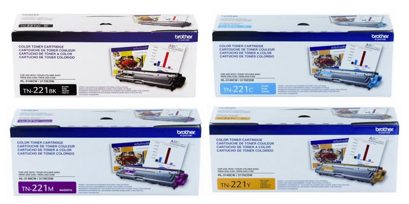 Brother TN-221 OEM Series Toner Cartridges