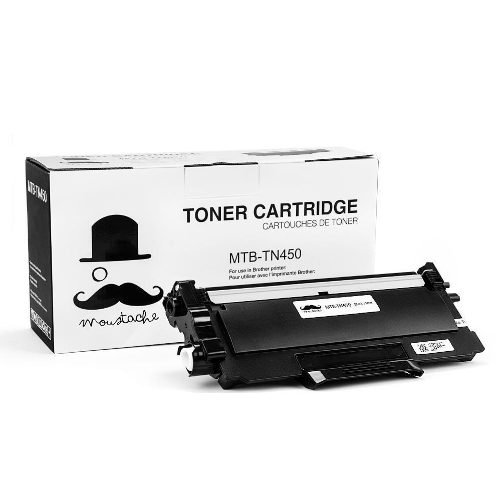 Brother TN-450 New Compatible Black Toner Cartridge