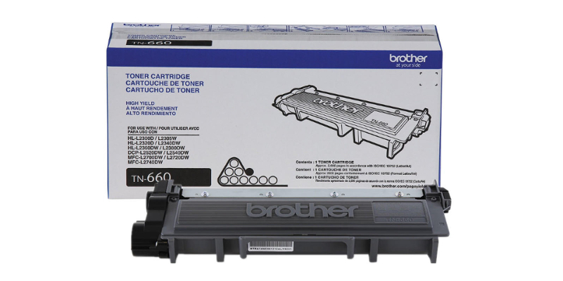 Brother TN 660 Original Black toner cartridge