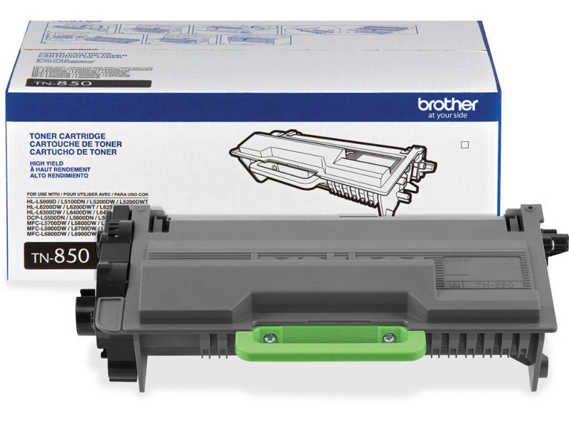 Brother TN850 Original Black Toner Cartridge