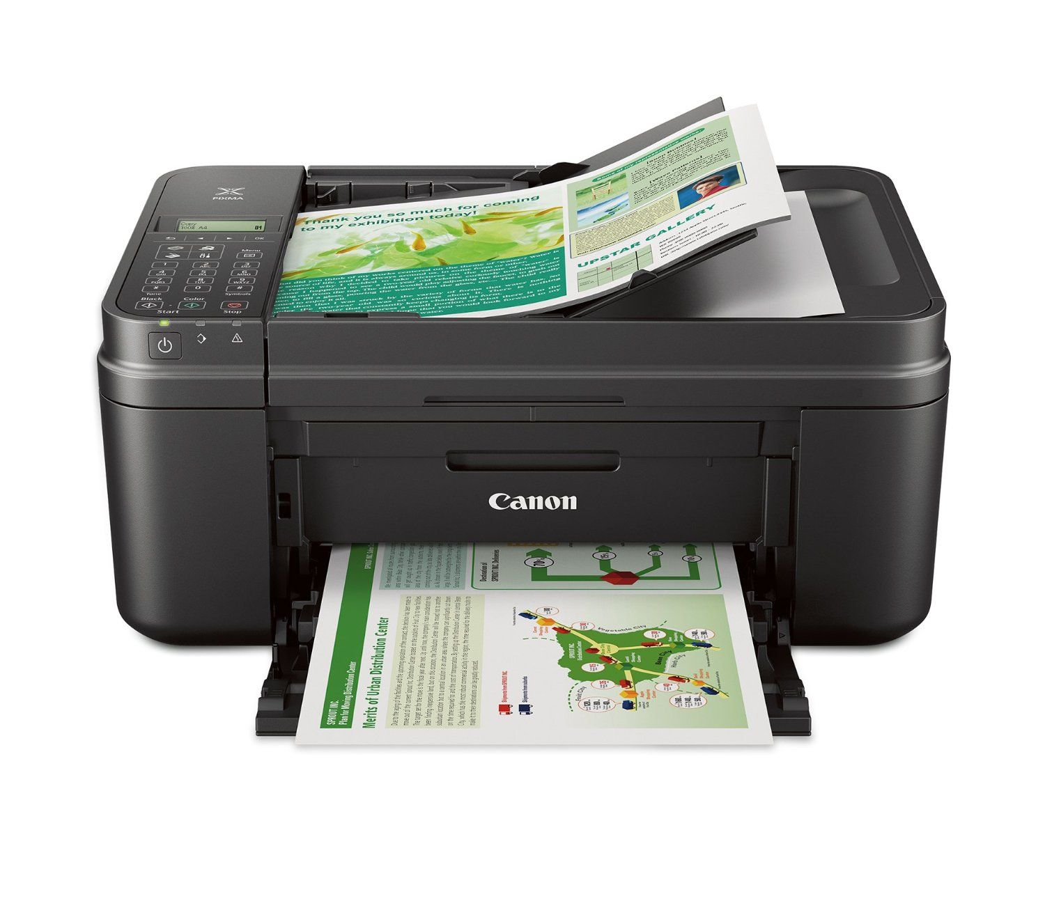 Canon PIXMA MX492 Office All-in-One Inkjet Printer