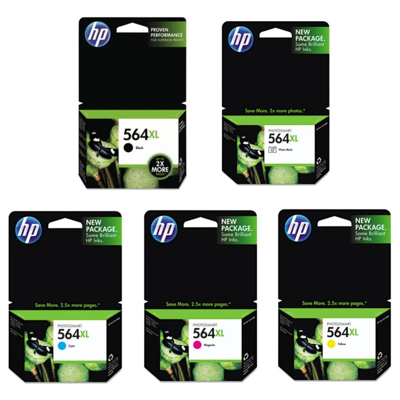 HP 564XL series original ink cartridges