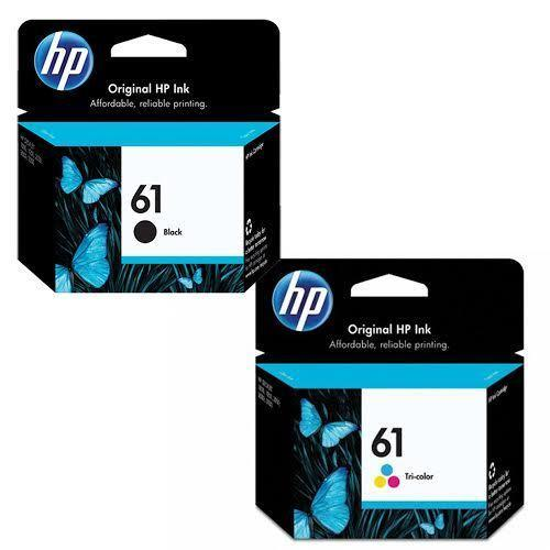 HP 61 Original Black Tri-Colour Ink Cartridge Combo Set