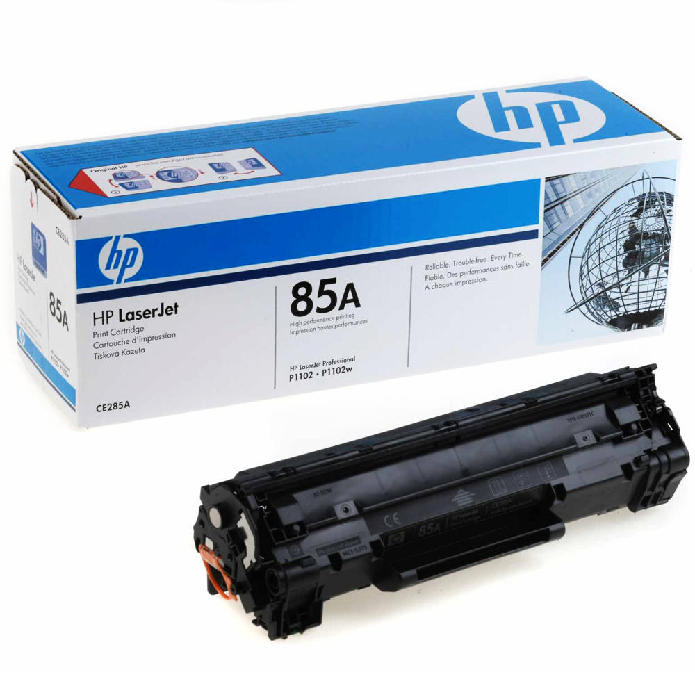 HP 85A CE285A Original Black Toner Cartridge