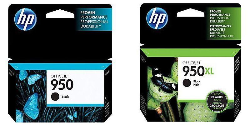 HP 950 HP 950XL Original Black Ink Cartridges