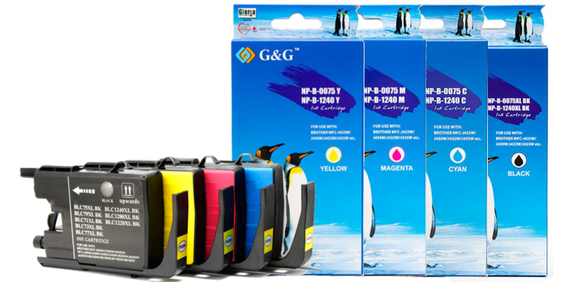 LC75 New Compatible Black-Cyan-Magenta-Yellow Ink Cartridge