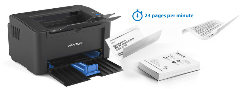 Pantum P2500W Monochrome Laser Printer with Wireless