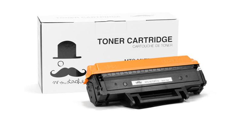 Samsung MLT-D111S New Compatible Black Toner Cartridge - Moustache®