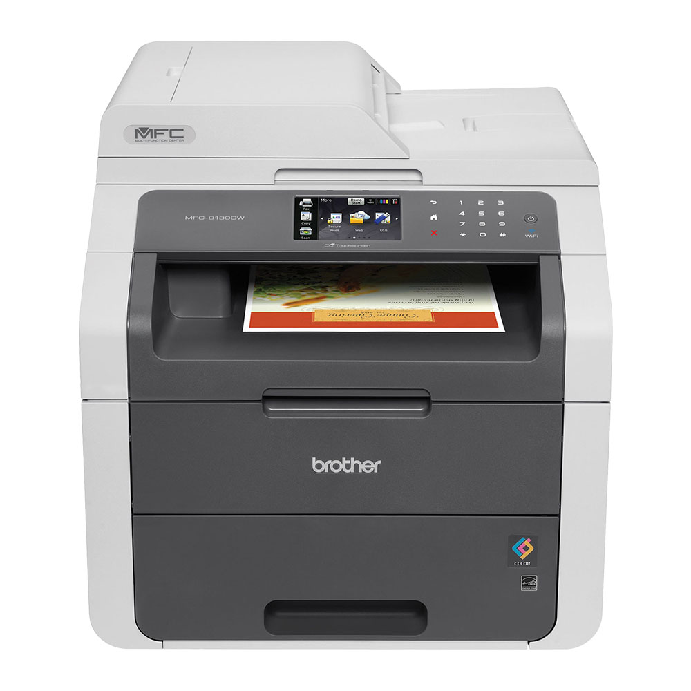 Brother®-MFC-9130CW-Digital-Wireless-Colour-Laser-Multifunction-Printer