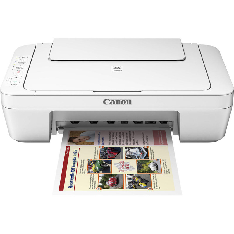 Canon® PIXMA MG3020 Photo All-in-One Inkjet Printer