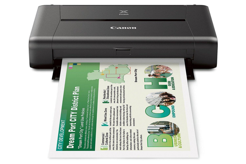 Canon PIXMA (iP110) Wireless Compact Mobile Printer