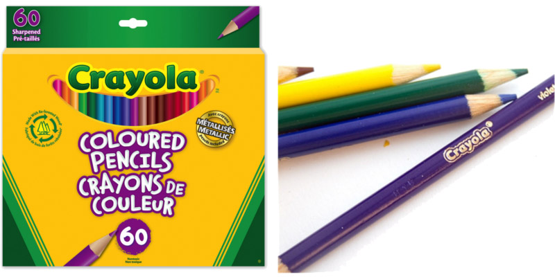 Crayola®-Long-Sharpened-Coloured-Pencils