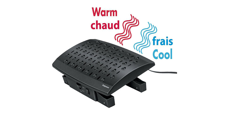 Fellowes®-Climate-Control-Footrest