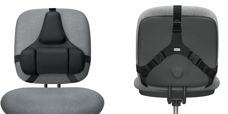 Fellowes®-Professional-Series-Back-Support-with-Microban®-Protection