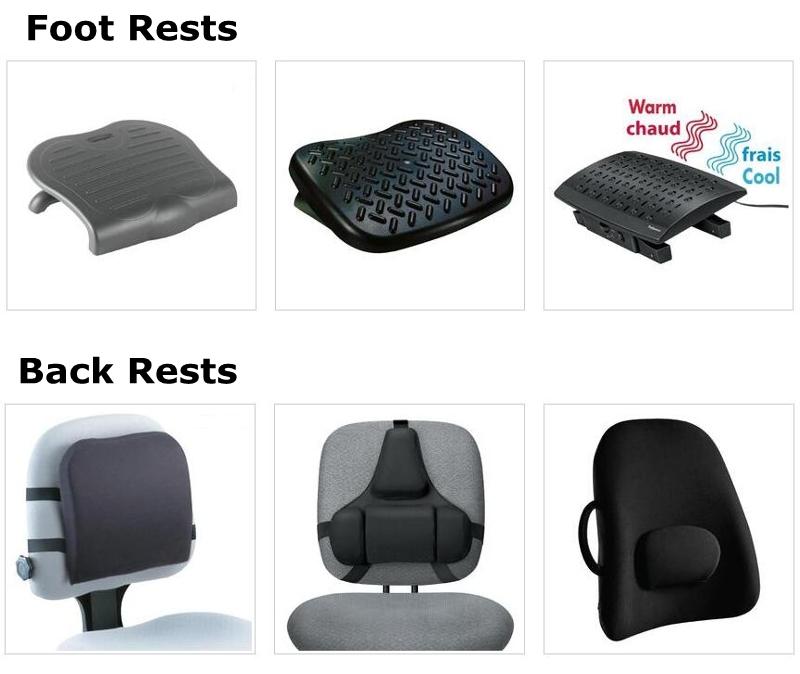 Foot Rests & Back Rests