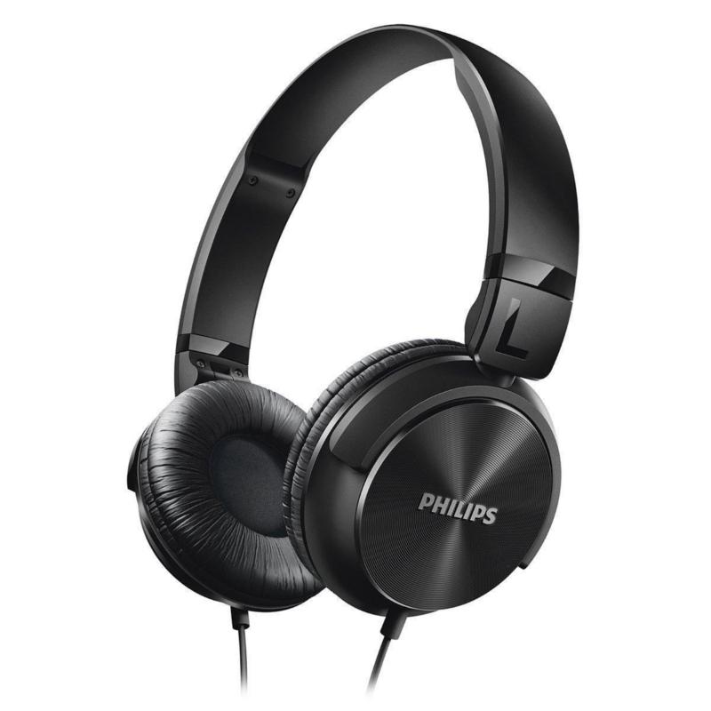 Philips On-Ear Sound Isolating Headphones (SHL3060BK-28)