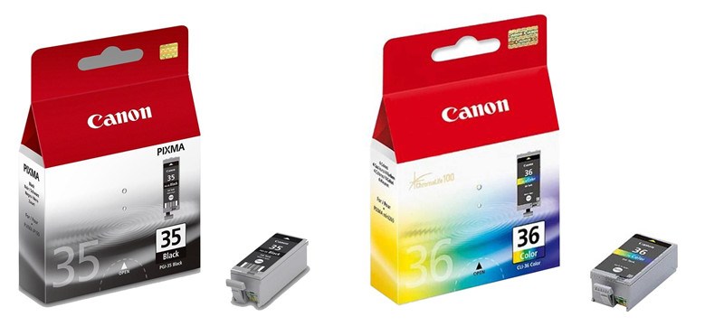 Canon PGI-35 CLI-36 Original Ink Cartridge