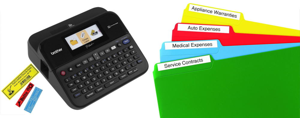 Brother P-touch® PTD600 PC-Connectable Label Maker