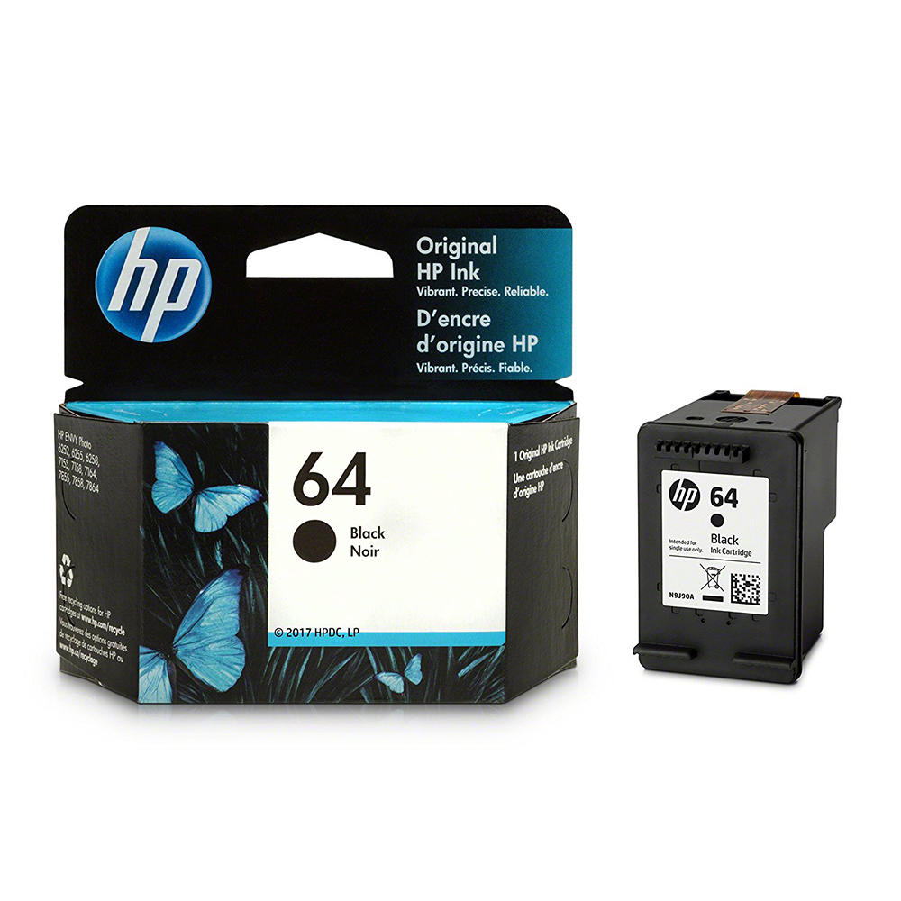 HP 64 N9J90AN Original Black Ink Cartridge