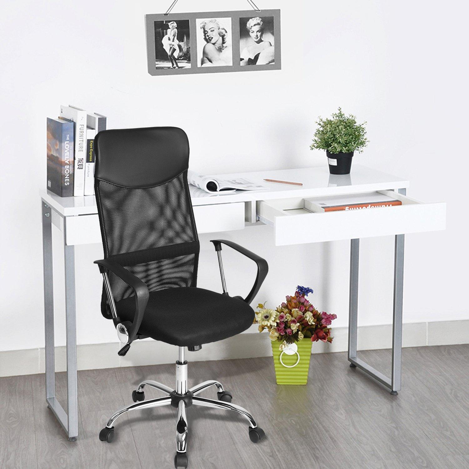 Moustache® Ergonomic Adjustable High Back Office Mesh Chair