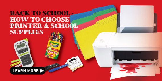 how to choose printer for back to school