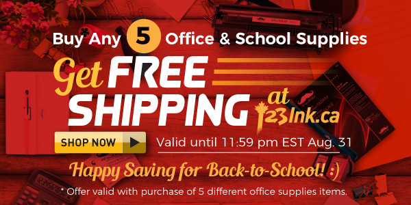 FREE SHIPPING WITH ANY 5 Office SuppliesPRODUCT ORDERS
