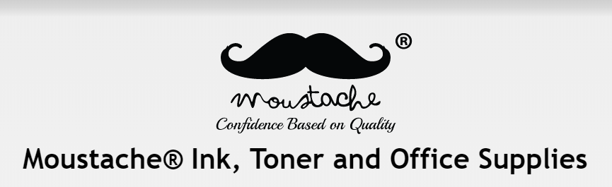 Moustache Ink Toner Office Supplies